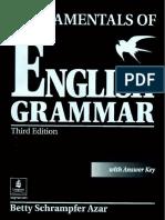 Fundamentals of English Grammar - Betty Schrampfer Azar