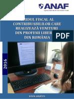 Ghidul Fiscal Al Contribuabililor Care Realizeaza Venituri Din Profesii Liberale Din Romania
