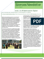 Education Sciences Newsletter Sp May 2010