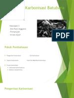 Kelompok III Karbonisasi Batubara (Briket & Kokas)