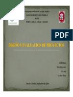 Diseño y Eval de Proyectos PDF