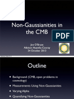 Non-Gaussianities in the CMB