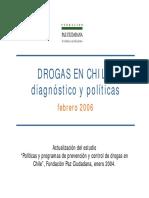 PAZ Ciudadana 2006 Drogas Chile Siglo XX