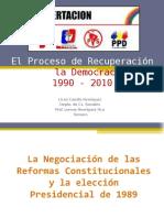 El Proceso de Recuperacion de La Democracia