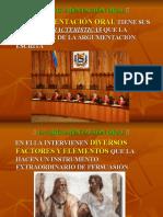 LA ARGUMENTACIÓN ORAL 21 10 2011.ppt