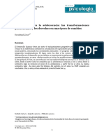 El Desarrollo en La Adolescencia. Krauskopf