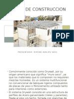 Sistema de Construccion Drywall