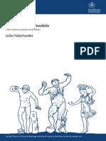 Julia Habetzeder, Evading Greek Models