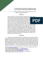 Development of a Recentering Steel Plate Shear Wall (Bruneau, Et Al. 2010)