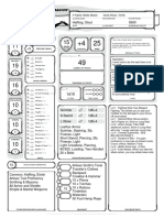 5e Lvl 5 Stout Halfling Battle Master Fighter