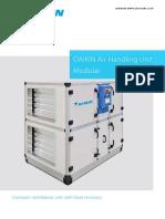 Daikin Applied UK D AHU Modular Product Brochure