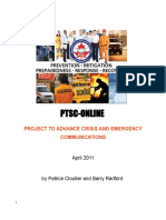 PTSC-Online Crisis Communications Project Compendium