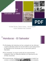 Guerra Honduras El Salvador