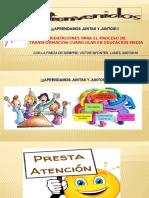 Presentacion Proceso de Tranformación Curricular 24-07-2016 (1)