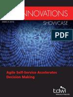 TDWI DIS Agile Data Innovations 2016