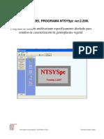 Guia Rapida NTSYS Ver 22