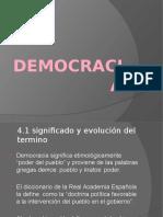 Valores Democráticos clase