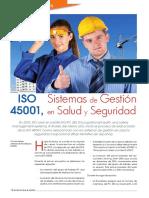 Revista Normas y Calidad ISO 45001