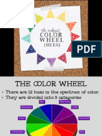 color wheel   association