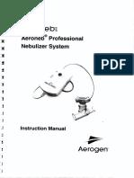 Aeroneb Nebulizer