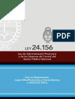 Ley 24.156 de Administración Financiera