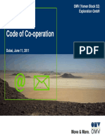 Code of Co-operation