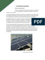 Central Eléctrica Fotovoltaica