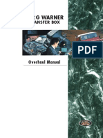 Borg Warner 44-62 Transfer Box Overhaul Manual