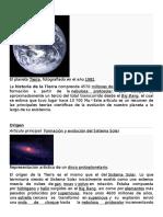 EVOLUCION Y Historia de la Tierra.doc