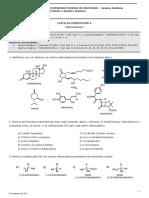 Lista Estereoquímica