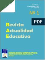 Revista Actualidad Educativa Año 1 Vol 1