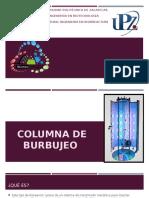 Columna de Burbujeo