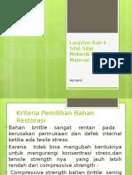 Kriteria Pemilihan Bahan restorasi.pptx