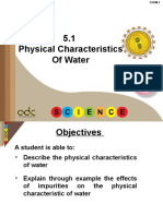 5.1 Physical Characteristics Of  Water.ppt