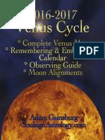 Venus Calendar Map