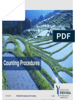 Field Data Processing Unit 2, Counting, Template
