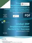 Global ERP Success Factors v3