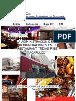 Analisis de Puestos Texas Ribs