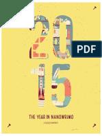NaNoWriMo 2015 Annual Report