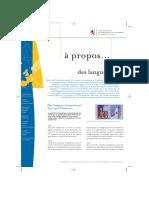 À Propos... Des Langues - Luxembourg