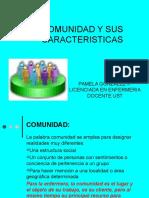 COMUNIDAD Y SUS CARACTERISTICAS 6° CLASE - copia.ppt