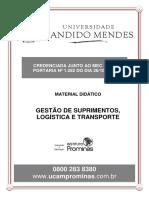 Apostila 5 - Gestão de Suprimentos, Logística e Transporte