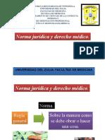 2-Norma Jurídica y Derecho Médico. 1