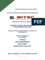 Practicas Intermedias - Judith Flores Paz