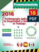 Revista El Prevencionista 18ava Edición