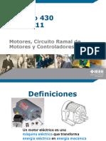 Presentación Motores, Controladores, Aire AA y Refrigeración.seminarioNEC2013