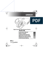 Omron M6 Instruction Manual