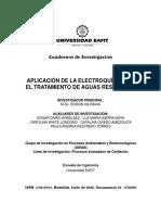 Electroquimica en Tat de Aguas
