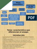Diapositiva Caracterisitca de Un Ensayo