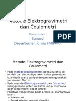 Elektrogravimetri Dan Coulometri